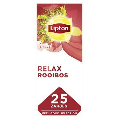 Lipton Feel Good Selection Thee Rooibos 25 zakjes -