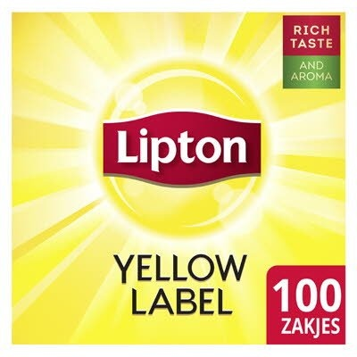 Lipton Feel Good Selection Thee Yellow Label 100 zakjes -