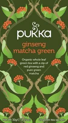 Pukka Ginseng Matcha Green 20 zakjes -