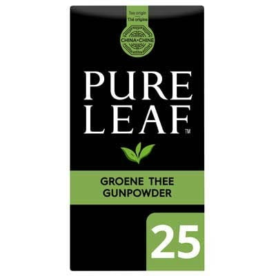 Pure Leaf Biologische Groene Thee Gunpowder 25 zakjes -