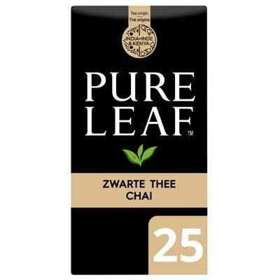 Pure Leaf Biologische Zwarte Thee Chai 25 zakjes -
