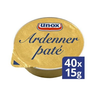 Unox Ardennerpaté 40x15g -