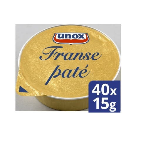 Unox Franse paté 40x15g -