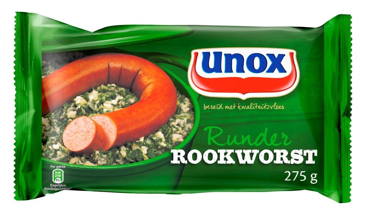 Unox Runder Rookworst -
