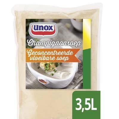 Unox Vloeibare Champignonsoep voor 3,5L -