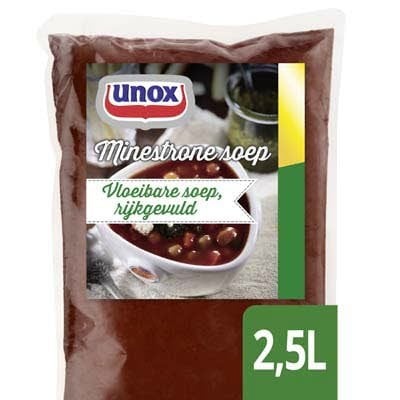 Unox Vloeibare Minestronesoep 2,5L -