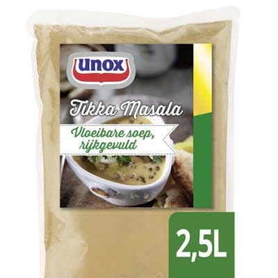 Unox Vloeibare Tikka Masala Soep 2,5L -