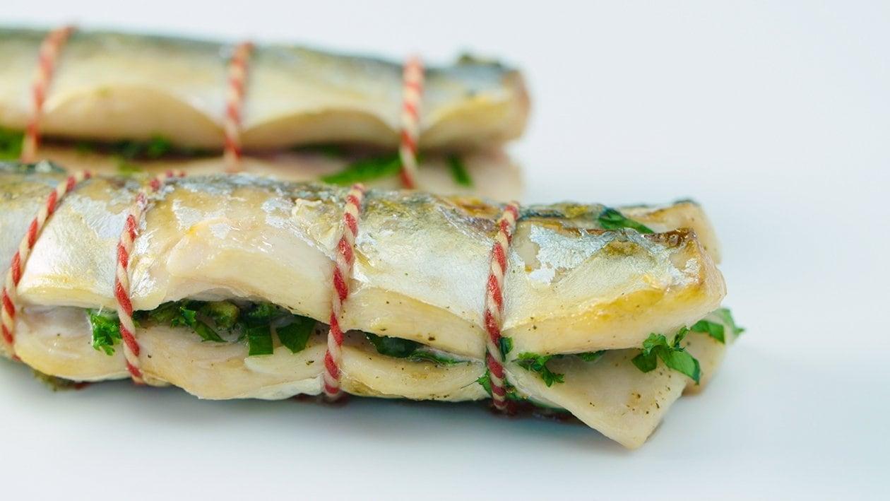 Makreel filet met verse kruiden - Martin Rotteveel