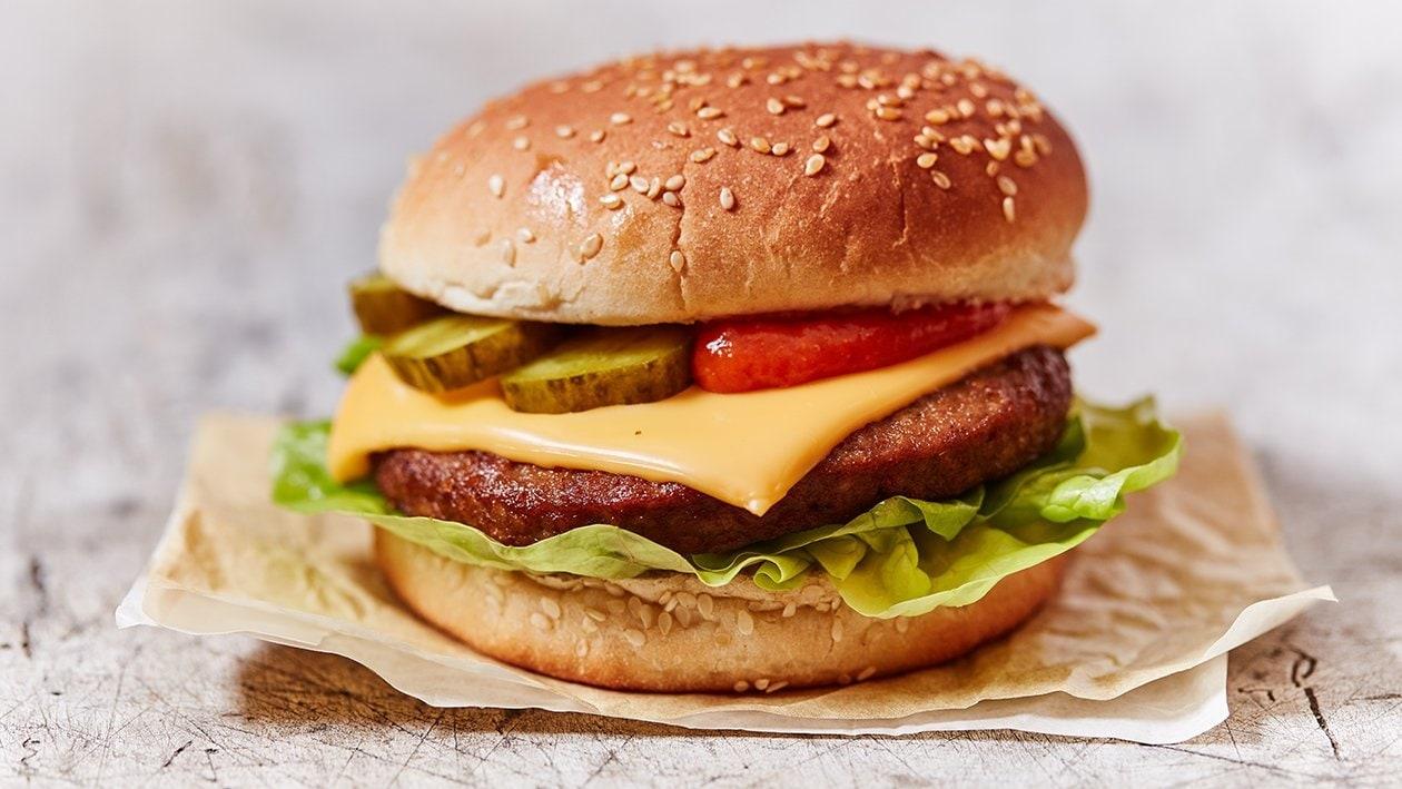 Vegetarische Cheese burger