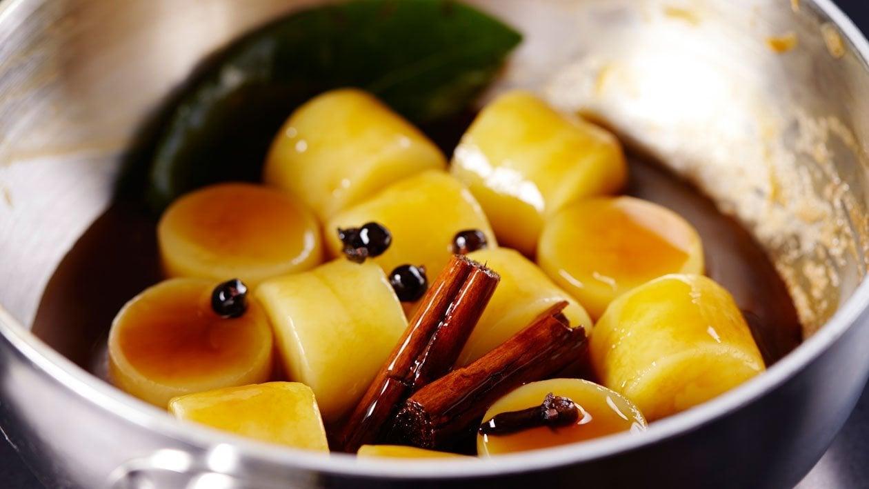 Winterse pommes fondantes