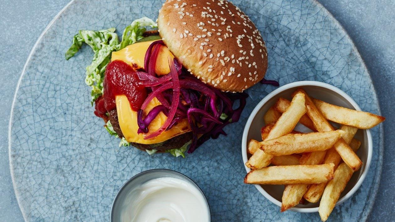 Aberdeen Angus burger