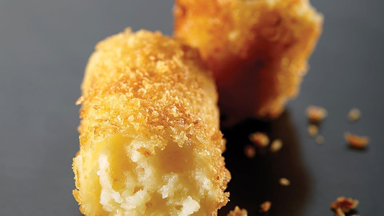 Krokante aardappelcannelloni